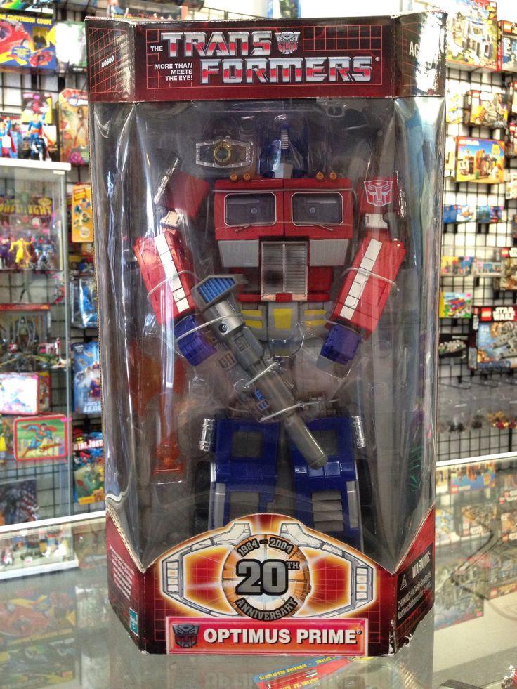 Hasbro Transformers 20th Anniversary Optimus Prime