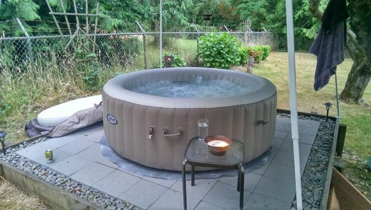 20 Exciting Stock Tank Pools To Be An Oasis On Your Backyard Amenagement Jardin Terrasse Piscine Amenagement Jardin Spa Gonflable