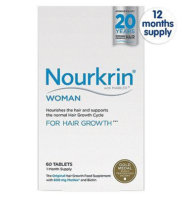 #Nourkrin #WOMAN 720 #Tablets (12 #Months #Supply) ##2392 #Advantage card #points. #Nourkrin® #WOMAN #nourishes the hair and #supports the #normal Hair #Growth #Cycle. FREE #Delivery on #orders over 45 GBP. #(Barcode #EAN=5707725099184)