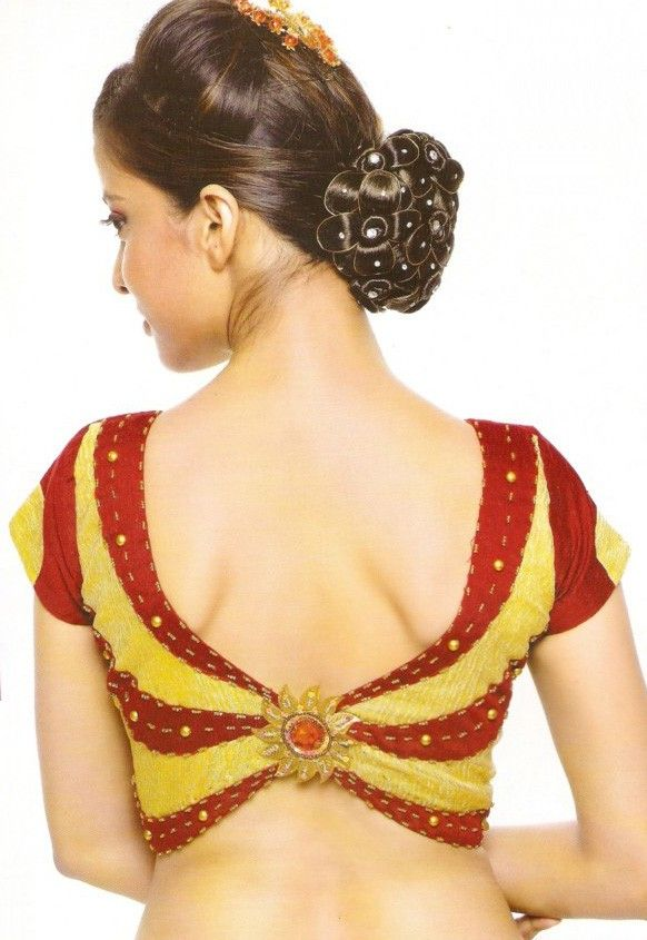 new saree blouse designs - Bing images