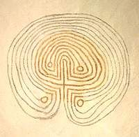 Labyrinths in churches are found throughout Scandinavia. A few examples are graffiti, but the majority are painted as wall or ceiling decoration, as frescos directly onto fresh plaster. Unlike the pavement labyrinths to the south, with only one exception at Grinstad in Sweden, they are all of the old 'classical' design, or developments from it. They are scattered across southern Norway, Sweden and Finland, with the largest concentration in Denmark. Many are difficult to see or only partially…