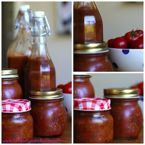 Saving the last of the summer tomatoes - a delicious spicy Tomato Chutney