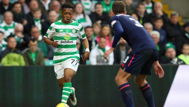 Watch Highlights As 16 Year Old Wonderkid Karamoko Dembele Lights Up On Celtic Debut Celtic Filipe Luis Soccer Boys