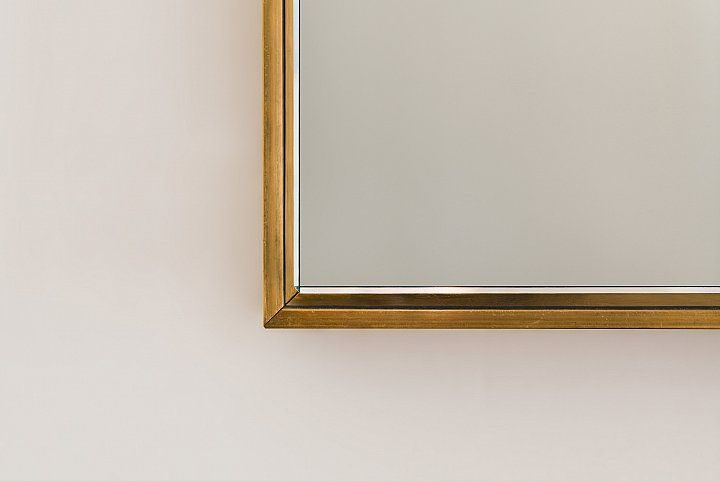 Messing Spiegel Designer Möbel Messing Beistelltisch