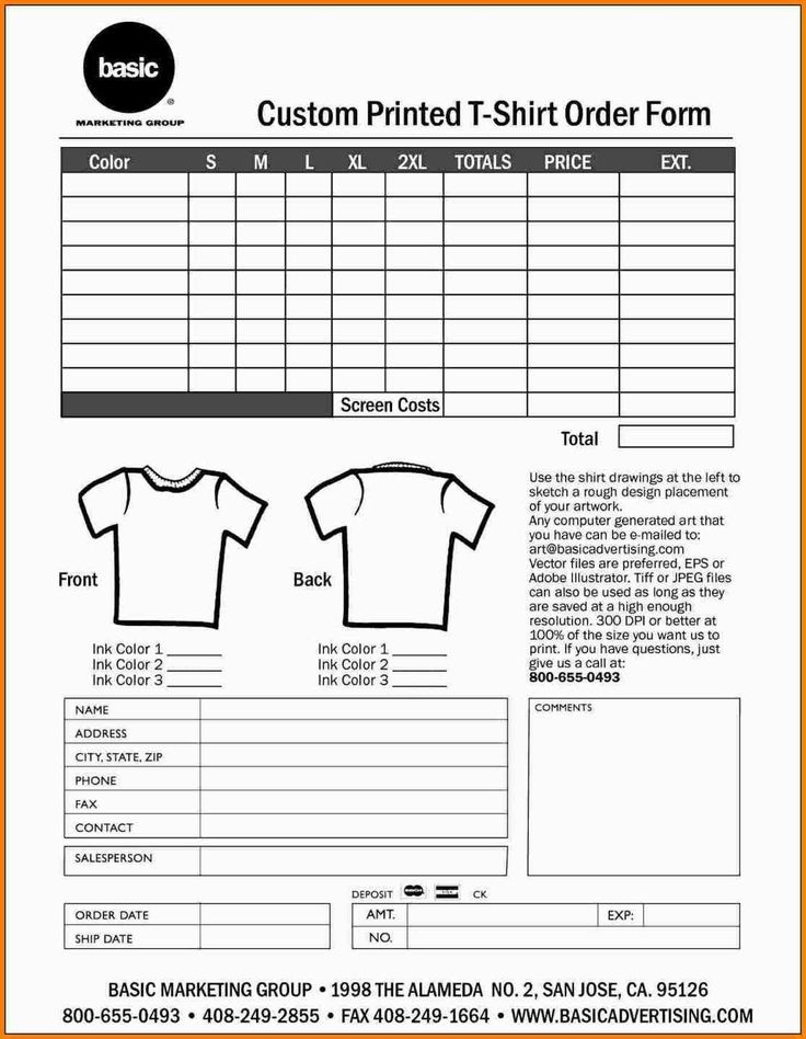needs to gather orders from customers you can make use of the order form templates which are