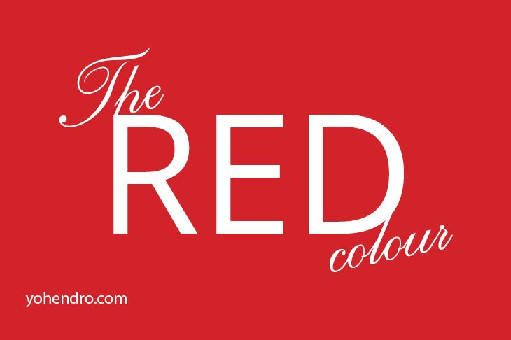 The Red Colour #colorpicker #colorproperty #Colour #GraphicDesign #Red