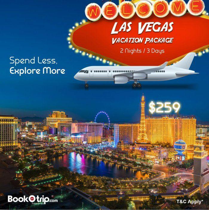 Bookotrip Bookotrip Twitter Vegas Vacation Packages Online