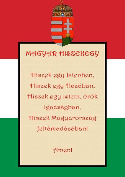 A Jobbik a történelmi címeres zászló és a Magyar Hiszekegy mellett   Alfahír