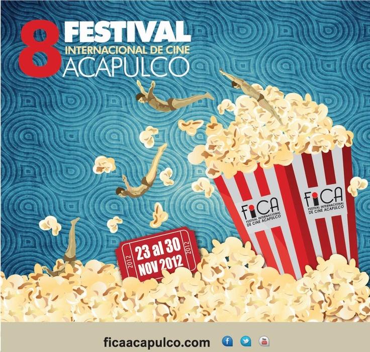 """Cop@News informa:  Y como cada Año ...  """"8vo. Festival Internacional Cine ACApulco""""  Del 23 al 30 Noviembre, 2012"""