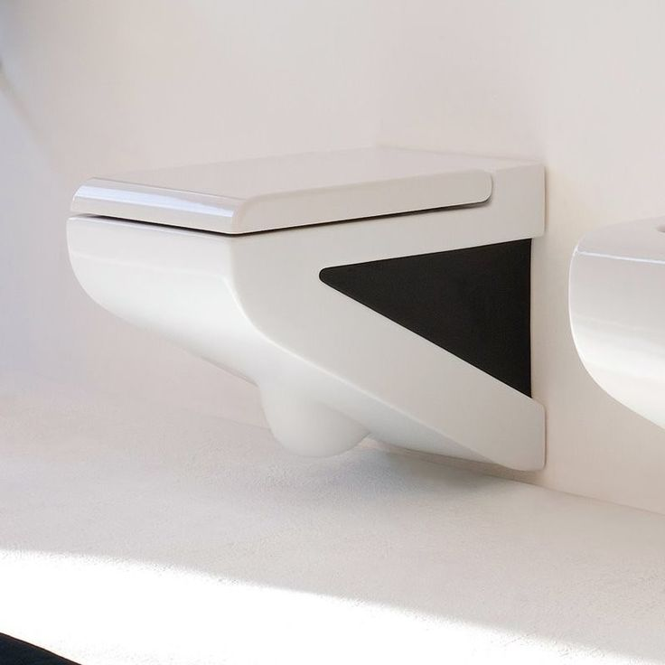 art ceram wand wc la fontana wei schwarz extravagante rtchen pinterest. Black Bedroom Furniture Sets. Home Design Ideas