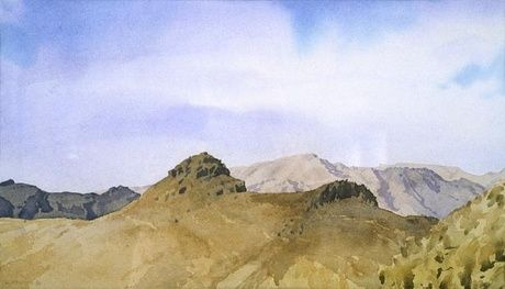 Port Hills by Bill Sutton Courtesy of the Christchurch City Art Gallery
