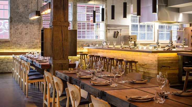 Firedoor - Rustic-chic decor presides over the refined seasonal cuisine cooked over wood coals in a heritage venue.