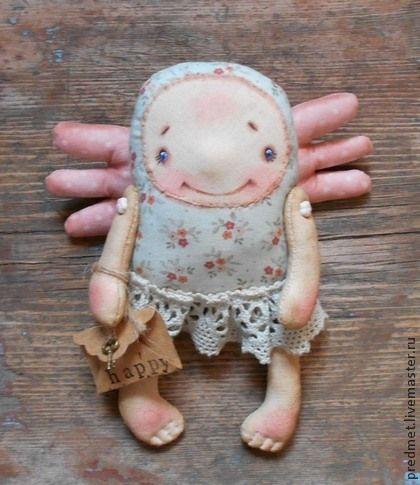 Коллекционные куклы ручной работы: Письма счастья. Handmade.
