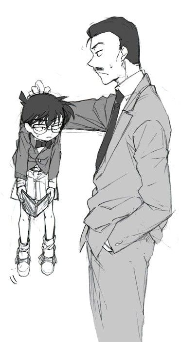 """I was just reading!"" Detective/Meitantei Conan, Mouri"