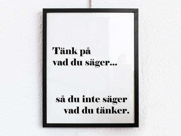 Tänk på 40x50 via Texttavlor. Click on the image to see more!