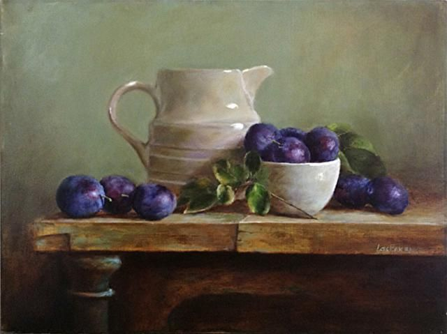 Still Life Oil Paintings By Lois Eakin - Fine Art Blogger