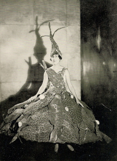Marie Laure de Noailles wearing Maritime Masquerade by Man Ray, 1929