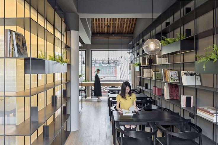 Librería y Café Rongbaozhai por ARCHSTUDIO