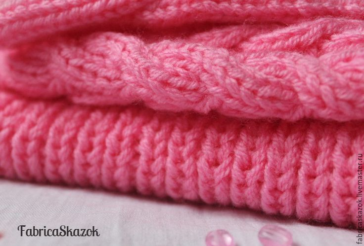Купить Розовые шапка, шарф-снуд, варежки для девочки. Комплект аксессуаров - розовый, комплект детский