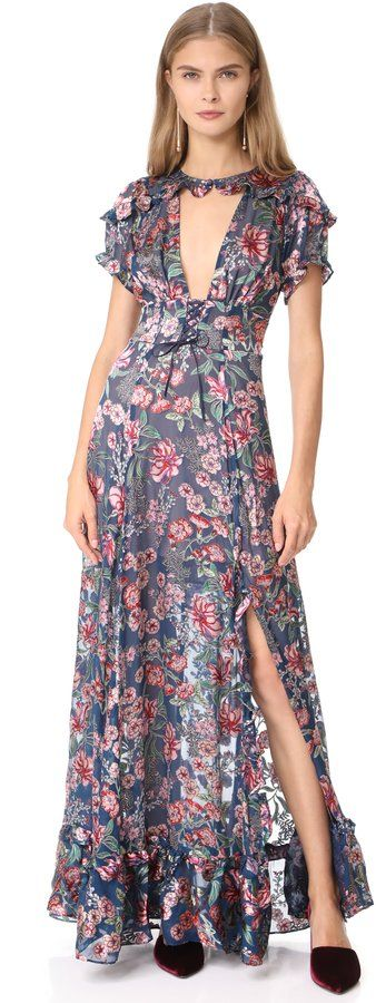 Flora Maxi Dress by For Love & Lemons on ShopStyle.