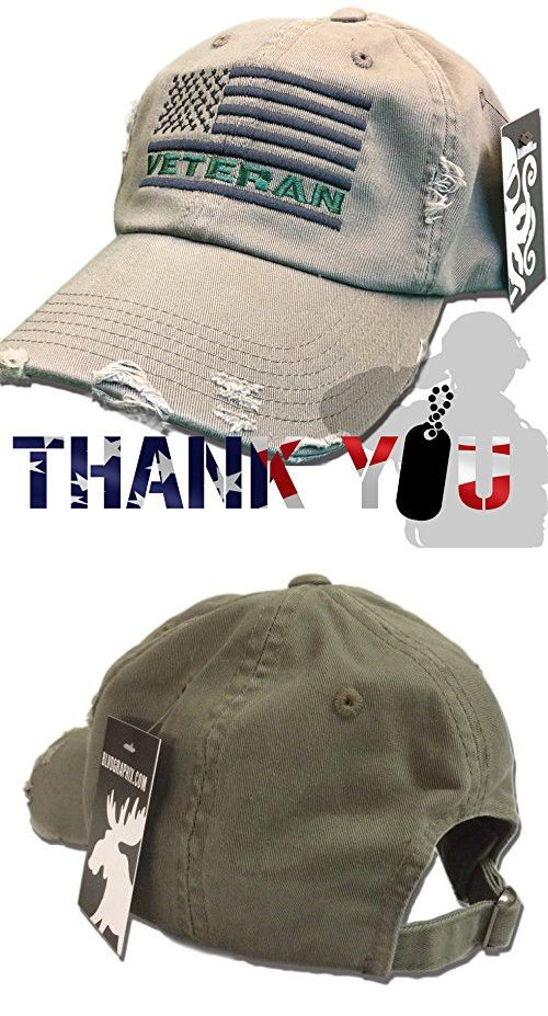 Veteran American Flag Hat Olive Green U.S. USA OIF Vietnam combat olive  drab distressed cap bb4b8a3821a