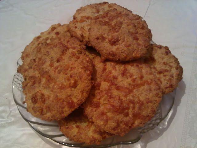 Teri konyhája: Zabpelyhes sajtos tallér