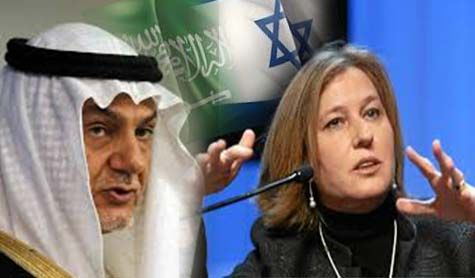 Tzipi Livni (Israeli Politician): Moderate countries(Saudi Arabia) seeking alliance with Israel to confont Iran&Hezb