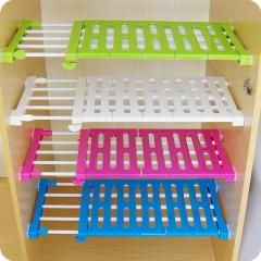 [ 22% OFF ] Vanzlife Generation Upgrade Wardrobe Storage Rack Cabinets Kitchen Partition Nail Free Telescopic Spacer Frame