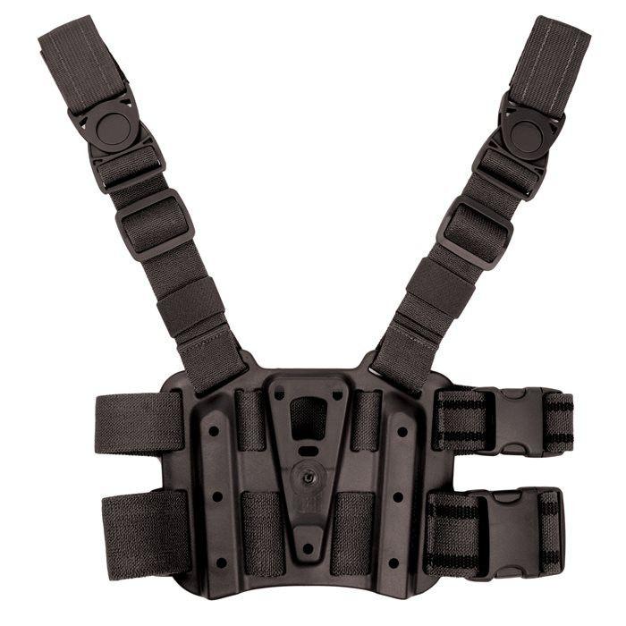 BlackHawk Tactical Drop-Leg SERPA Holster Platform, Black