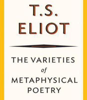 The Varieties Of Metaphysical Poetry PDF