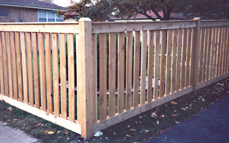 4ft wood fence - Google Search