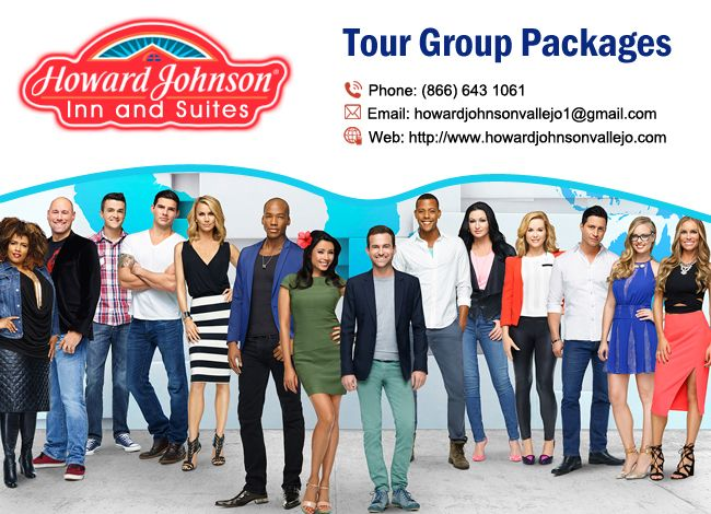 Tour Groups are warmly welcomed! Howard Johnson Inn & Suites Vallejo offers customized packages. http://goo.gl/nmHCpH