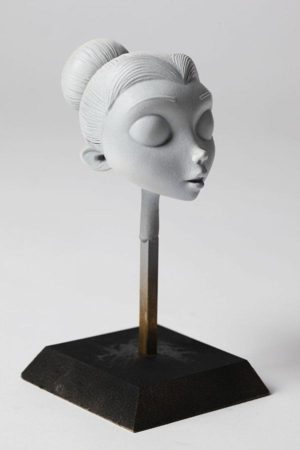 Victoria Everglot #maquette from Corpse Bride - MacKinnon and Saunders