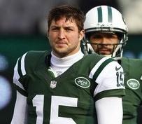 New York Jets release quarterback Tim Tebow, team confirms. (via @NBC News)