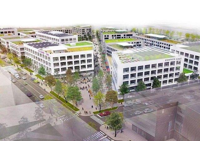 Développement du quartier technopole angus