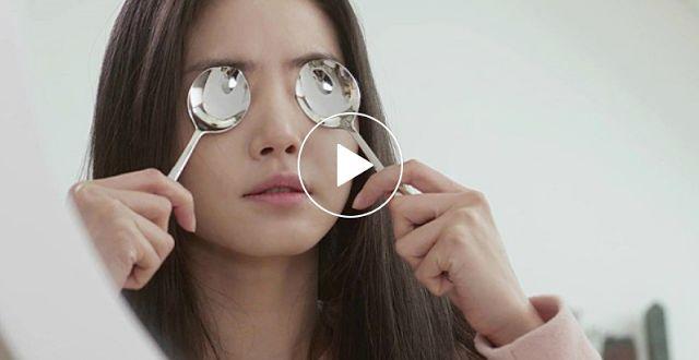 #beauty 초간단 멀티팁 메이크업 & 붓기커버 메이크업 팁(Tip)