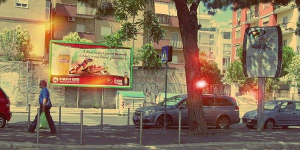 Poster Peroni