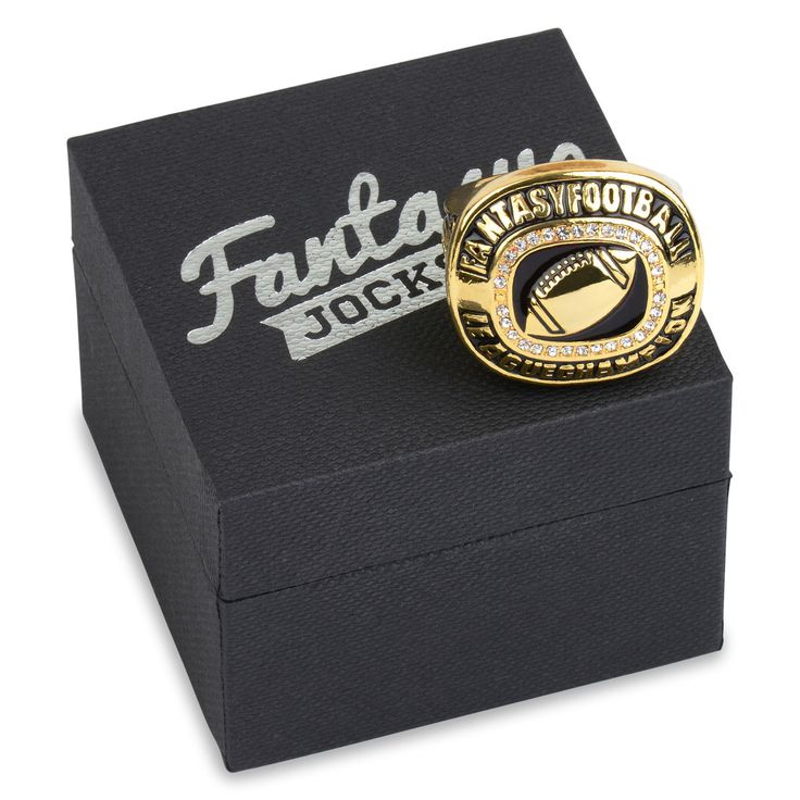 Fantasy Football Championship Ring Trophy - FantasyJocks: Fantasy Football Draft Board Kit   Baseball   Basketball