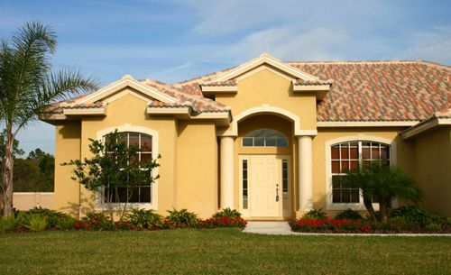 Exterior Paint Colors For Stucco Homes Exterior Paint: Or Maybe Yellow? It's So Nice In Any Kind Of Weather