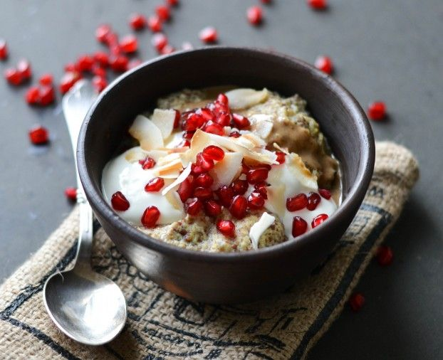 Grain free coconut porridge - Paleo & LCHF approved - ATLS