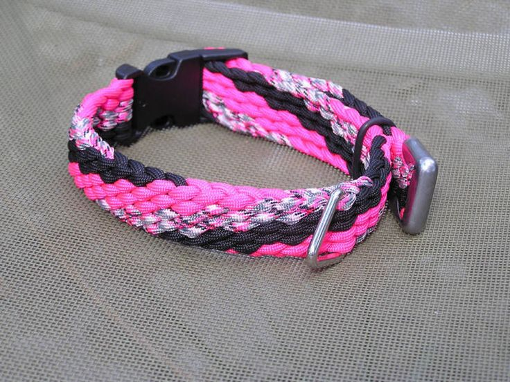 Paracord Braiding Instructions | paracord braid/weave collar i havent seen before