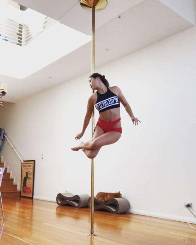 18 pole dance anastasia sokolova pole dance tricks new 2015 - 1 1