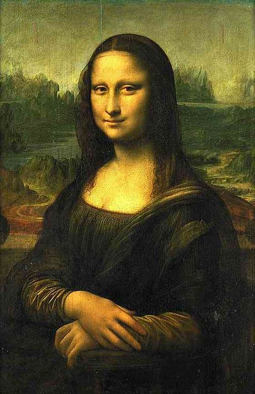 Leonardo da Vinci (1452-1519) ~ 'La Gioconda' or 'The Mona Lisa' (Monna Lisa or La Gioconda in Italian; La Joconde in French)