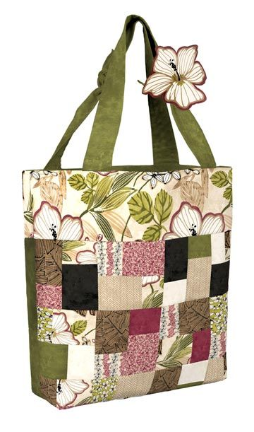 Polynesian Party Bag Pattern by   Deborah Stanley for Frog Hollow Designs  www.froghollowdesigns.com