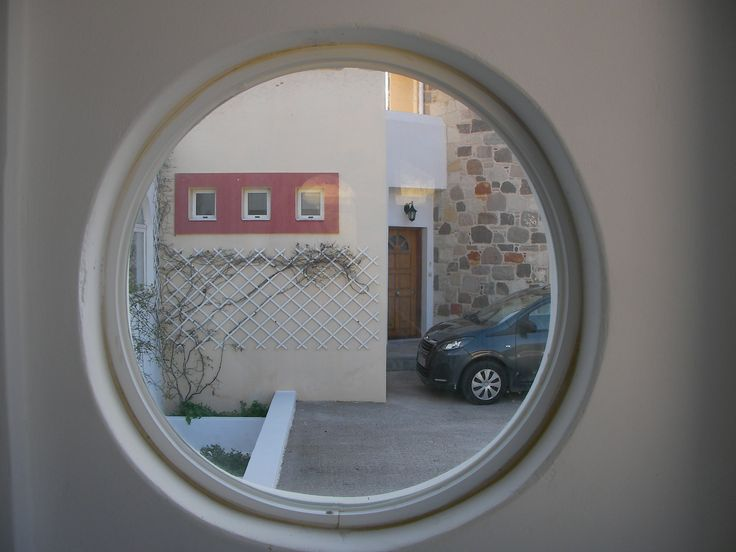 Let's look through the round window!