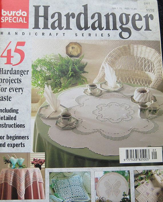 Burda Hardanger Pattern Magazine by TheHowlingHag on Etsy, $9.95