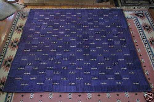 CROWN ROYAL BAG QUILT MADE FROM MORE THAN 160 BAGS   eBay
