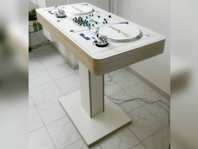41 best dj booth images on pinterest dj booth dj setup. Black Bedroom Furniture Sets. Home Design Ideas