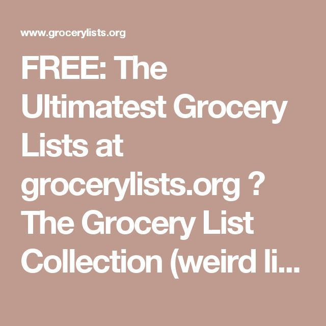 The 25+ best Grocery checklist ideas on Pinterest Budget grocery - grocery list examples