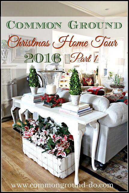 common ground Christmas Home Tour Part 1